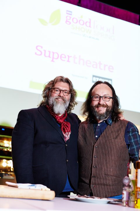 Join the boys at the BBC Good Food Shows