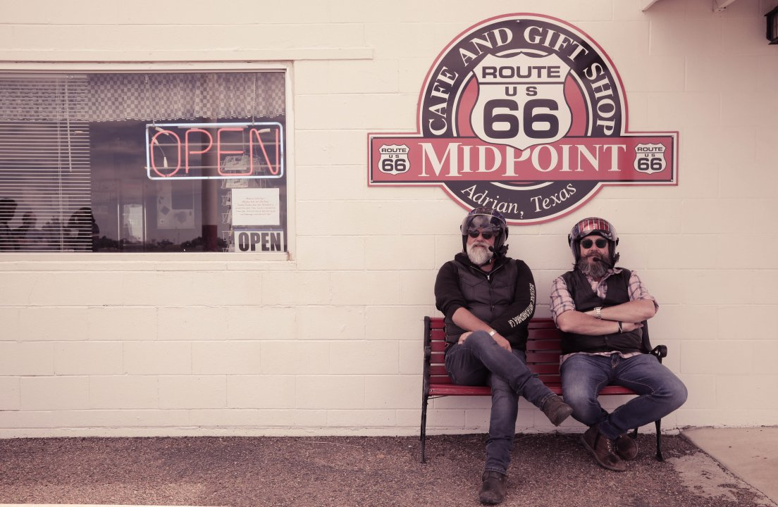The Hairy Bikers Ride Route 66!