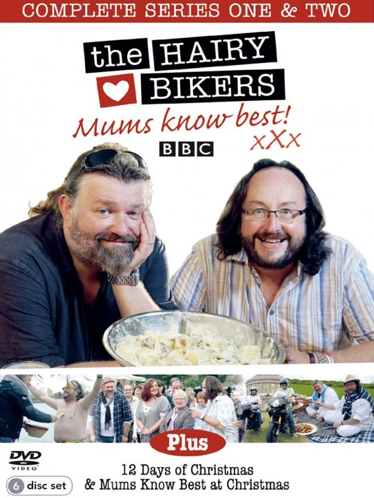 The Hairy Bikers: Mums Know Best Series 1 & 2 (DVD)