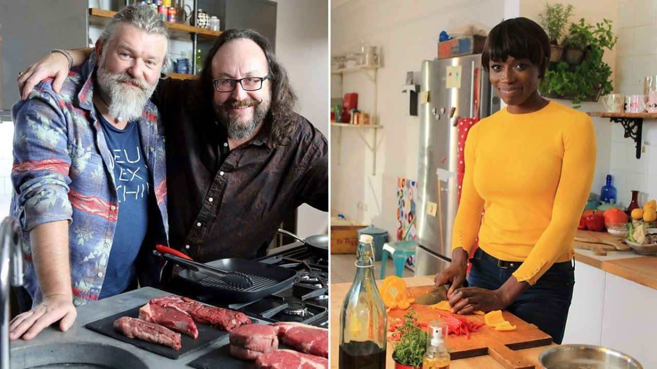 The Hairy Bikers hunt down The Nation's Favourite Food for BBC2