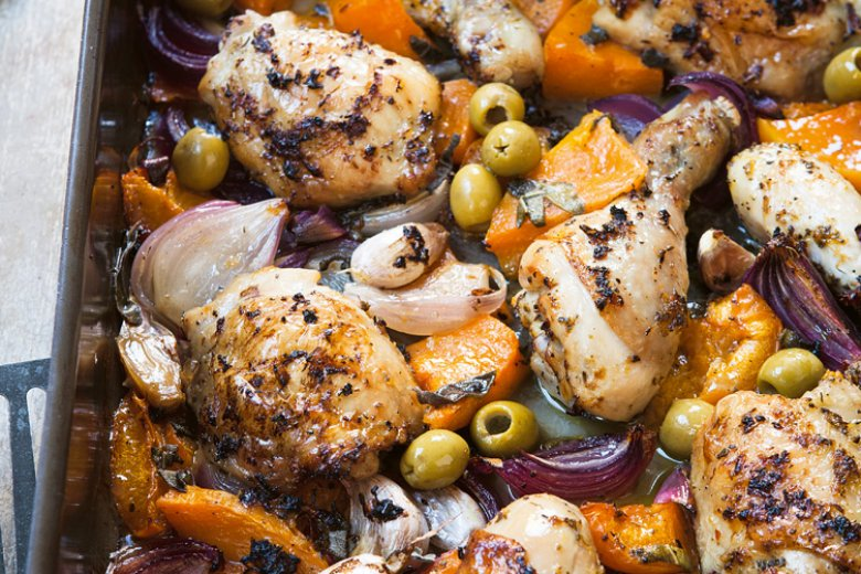 Chicken & Sage Traybake