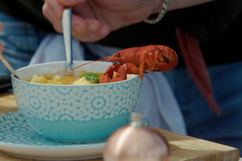 Crayfish chowder