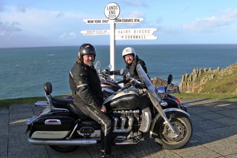 The Hairy Bikers rev up for their Food Tour of Britain