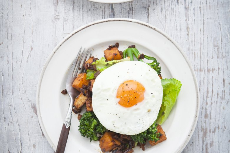 Smoked Tofu and Vegetable Hash