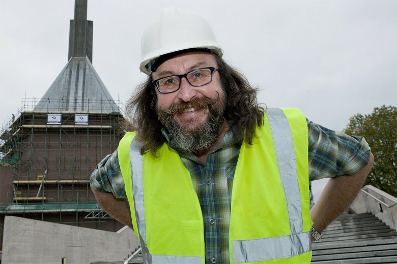 The Hairy Builder with Dave Myers comes to BBC Two
