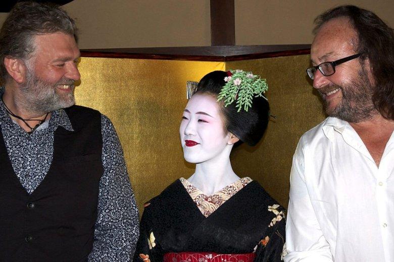 The Bikers meet the geisha of Kyoto