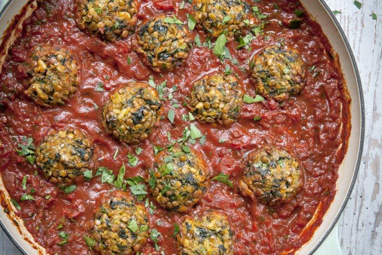 Meatless Meatballs