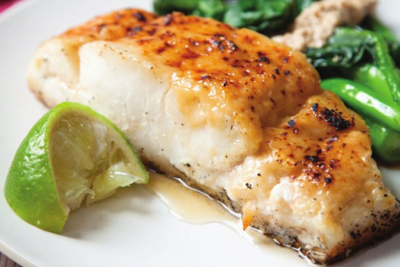 Miso-baked black cod