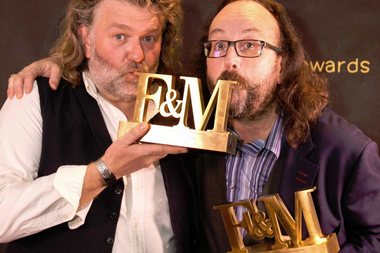 Hairy Bikers bag TV Personality of the Year Award