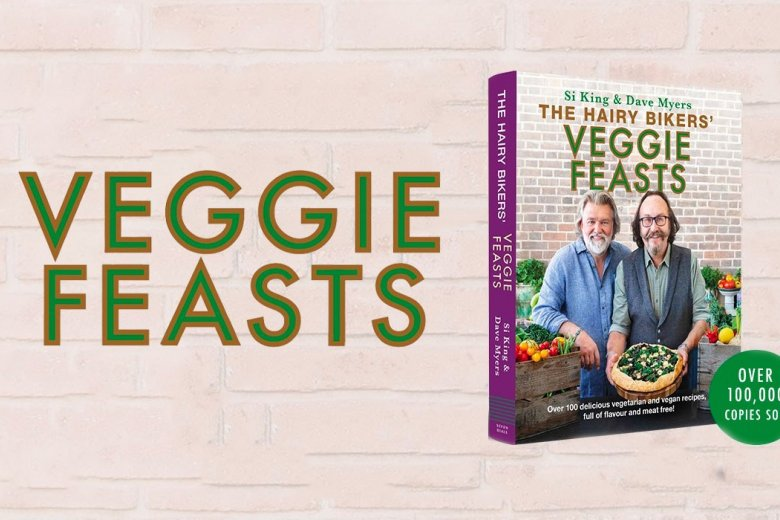 The Hairy Bikers' Veggie Feasts sells over 100,000 copies