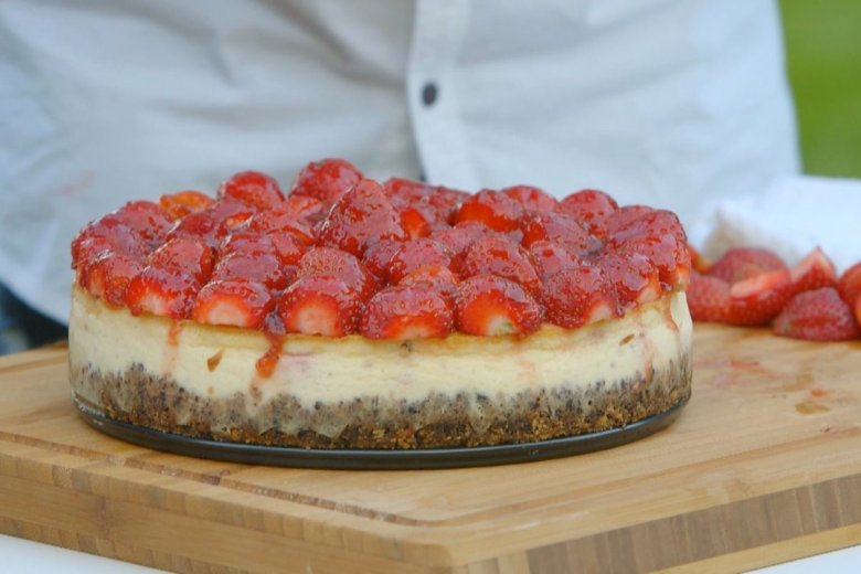 ​Vodka strawberry cheesecake