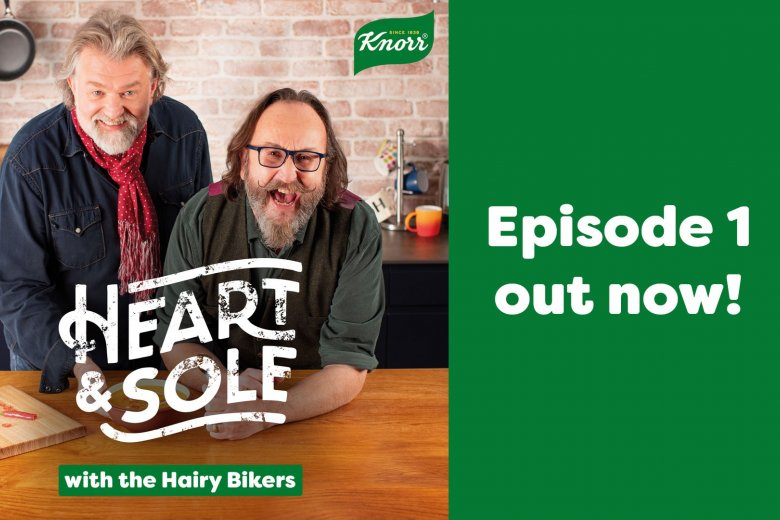 The Hairy Bikers Heart & Sole Podcast is out now!