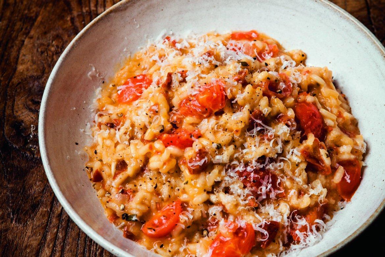 Sunblush Tomato Risotto