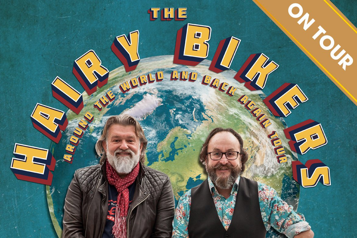 Announcement: Hairy Bikers' Around The World And Back Again Tour