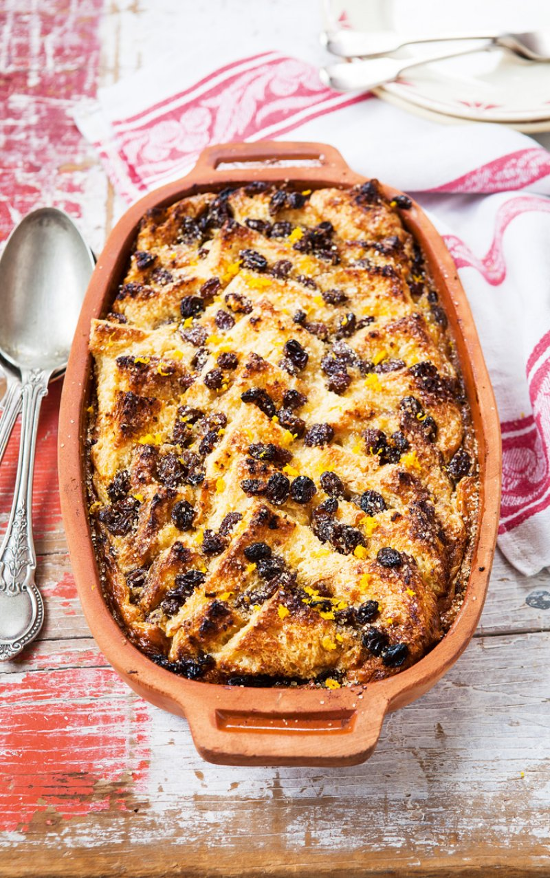 Bread & Butter Pudding with Pedro Ximénez Sherry