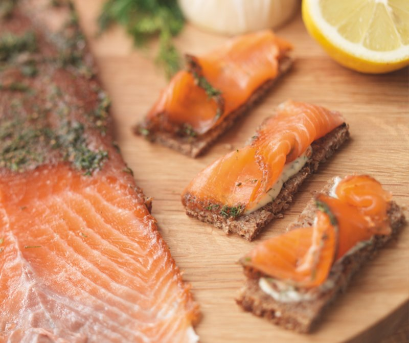 Christmas Gravlax with Dill, Treacle & Cumin