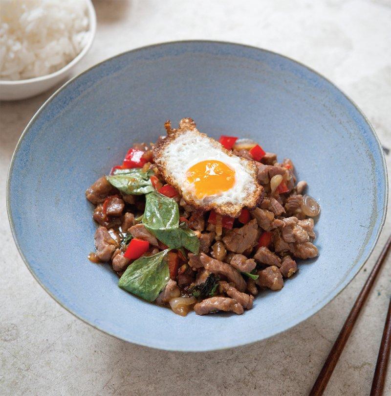 Thai beef stir fry
